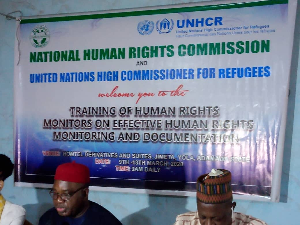 TRAINING OF HUMAN RIGHTS MONITORS ON EFFECTIVE HUMAN RIGHTS MONITORING AND DOCUMENTAION